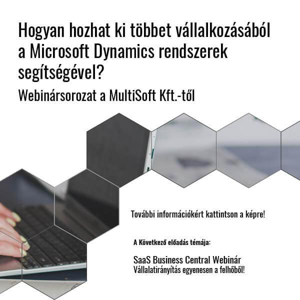 Business Central webinár